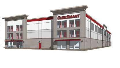 Rendering of a 90,000-square-foot CubeSmart facility planned for Oviedo.
