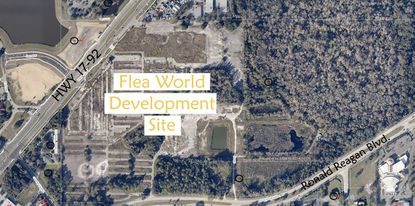 Homebuilder Taylor Morrison is under contract to buy and develop the roughly 110-acre Flea World site in Seminole County for about $19 million.