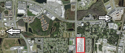 Legacy Residential plans to build a 300-unit apartment complex on Orange Blossom Trail. Nearby, Fore Construction is wrapping up construction on 19 South apartments and The Latigo Group/Elevation Development have started building the first phase of Ball Park Village apartments.