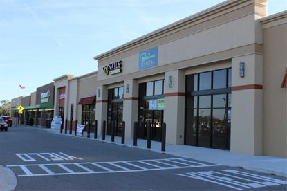 Jacksonville investor Bin Zhang paid $3,055,000 for this multi-tenant retail center at the corner of Osceola Parkway and Boggy Creek Road.