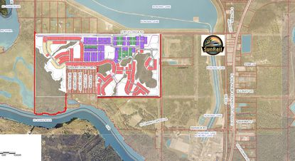 Rivington will bring 700 homes within a half-mile of the DeBary SunRail station. It's on the banks of the St. Johns River.
