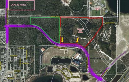 Pending OCPS land deal helps galvanize Daryl Carter Parkway extension plans
