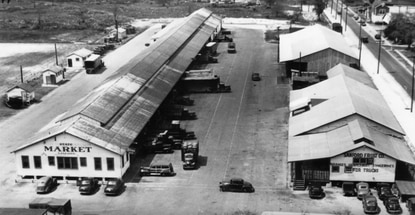 The Florida Department of Agriculture opened its very first state farmers market in Sanford in 1934. The state sold the market to a Tampa produce company in 2015.