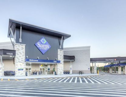 A promotional photo of the new Sam's Club at Lake Nona Landing.