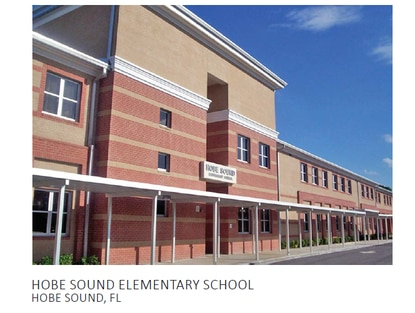 Song + Associates designed the Hobe Sound Elementary School and will adapt that design for the Michigan Avenue Elementary School replacement school in St. Cloud. That school, built in 2006, was constructed on the Hobe Sound campus and the older school demolished.