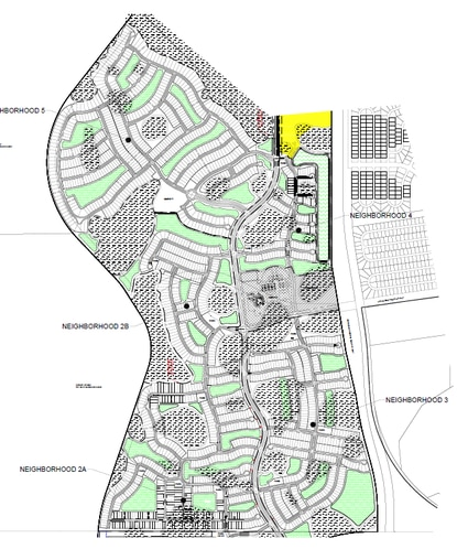 Taylor Morrison Homes filed a preliminary subdivision plan for Pod B of Westview, seeking approvals for 1,844 detached home lots in five sizes, more than 50 acres of parks and amenities and an 11.5-acre commercial lot.