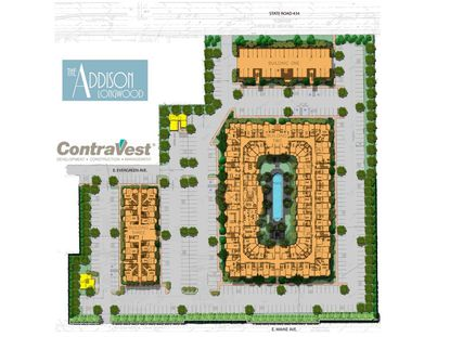 ContraVest and CBA advancing 3D design process with Addison at Longwood multifamily project