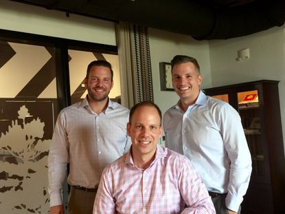 The Orosz family, which previously founded Royal Oak Homes and sold it to AV Homes, is launching a new homebuilding company: Hanover Family Builders. Picutured are (L to R) VP  of Investments Matt Orosz, VP of Finance Steve Orosz and VP/legal counsel Andrew Orosz.