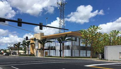 The proposed 10,000-square-foot office building will contain about 7,800 square feet of leasable space.