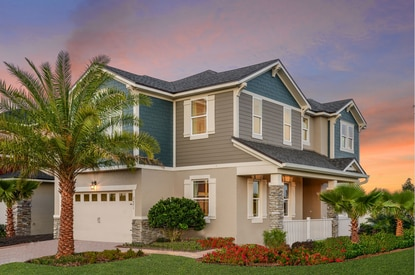 Osceola County's Land Development Code update could include new requirements for facade treatments and corner lots. Mattamy Homes designed this house in Kissimmee's Tapestry community specifically for corner lots.