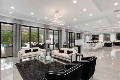 NFL Quarterback Robert Griffin III and wife, Greta, sold their ultra-contemporary, 10-bedroom Reunion mansion for $3.2 million.