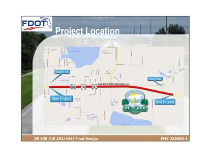 Construction starts this week on a $16 million project to widen US 192 in St. Cloud