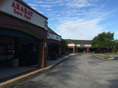 The Republic Square shopping center on Universal Boulevard, currently home to a handful of businesses such as Ararat Euro Food and Brazilian restaurant Ana's Kitchen, sits on 11.4 acres that are ripe for mixed-use development.