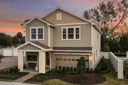 A rendering of a home at the planned Flora Gardens community at 3522 S. Goldenrod Road.