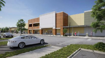 The redeveloped Oak Grove Shoppes will contain a little more than 147,000 square feet.