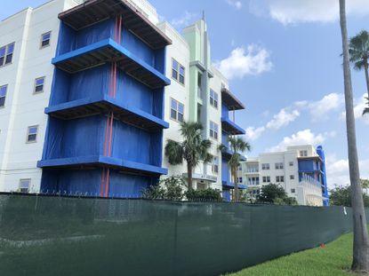 The Sola at Celebration apartments have been vacant since August 2017, when Osceola County issued an evacuation order.