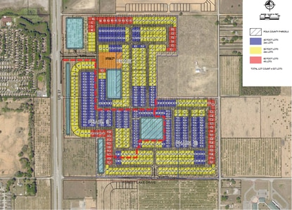 Pulte Homes is the contracted buyer for this proposed 536-home subdivision on U.S. 27 in Haines City.