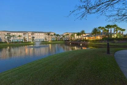 A view of the Savannah at Park Central apartments, located off of John Young Parkway, east of the Mall at Millenia.