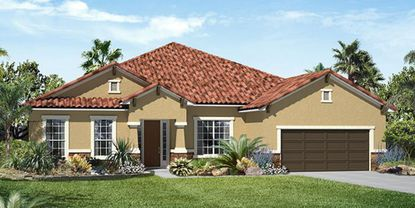Richmond American Homes is building 45 homes in Winter Garden in a roughly $20M project. The photo above is from its Bella Lago community in Clermont.