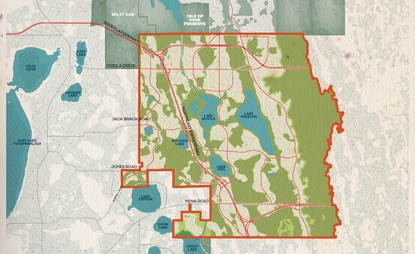 The Florida Legislature established the Sunbridge Stewardship District, which encompasses the 19,000-plus acres in Osceola County that will be developed by Tavistock.