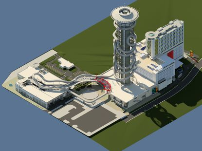 Project: Skyplex entertainment complex (Updated)