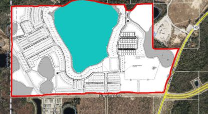 The proposed Gem Groves PD and PSP contains entitlements for more than 440 home sites, future multifamily, commercial development and elementary school.