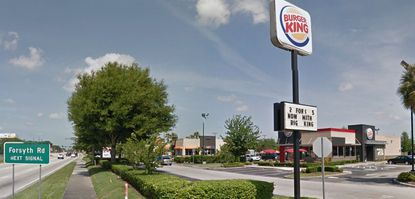 This Burger King at 6709 University Blvd. in Winter Park is one of 11 local small retail/dining properties acquired last week by a New Jersey-based REIT.