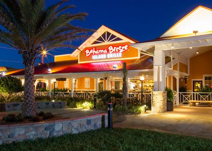 Marketing photo of a Bahama Breeze restaurant.