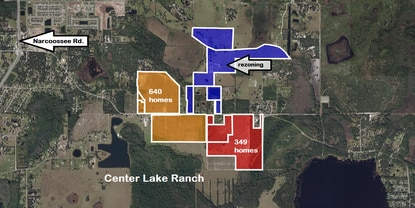 Developers seek rezoning of 150 acres in East Narcoossee area for residential