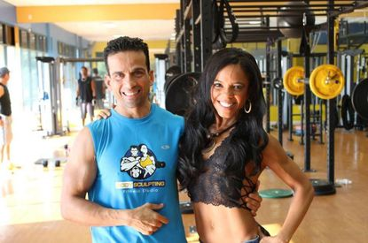 Eddie Ayala and Elisa Reynoso, partners in Body Sculpting Fitness Studio who are preparing to build a new stand-alone building for the business.