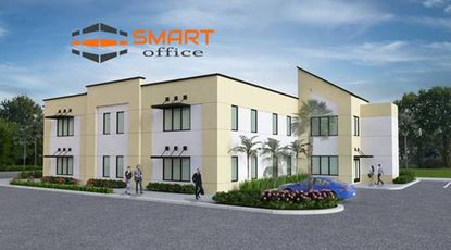 An example of the SMART building design Ormond Beach developer Chris Butera plans to use for two office buildings in Lake Mary.