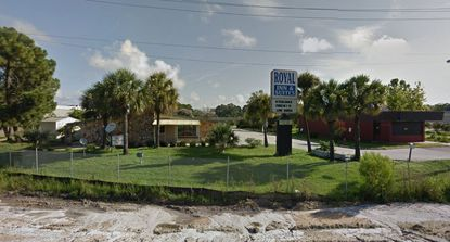 Prior to demolition, the Royal Inn & Suites sat at the northeast corner of I-4 and S.R. 46 in Sanford.