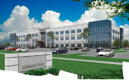 The owner of Ripley Entertainment Inc. is building two 120,000-square-foot office buildings on S. John Young Parkway.