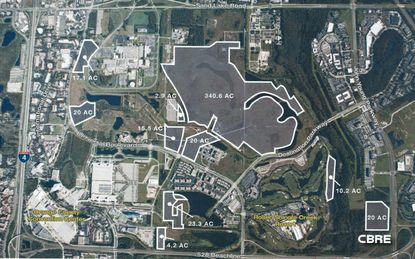 Colony Capital 474-acre package sells to buyer linked to Universal