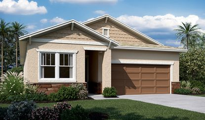 The 4-bedroom Coral model is one of 13 floorplans available at Pinewood Gardens, a Richmond American Homes community.