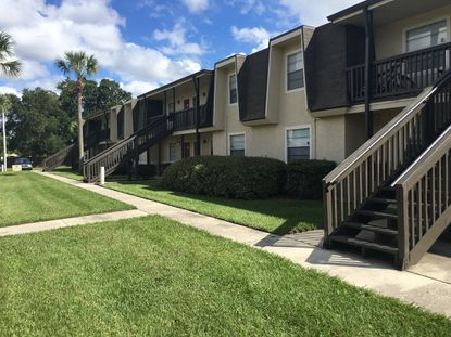 An exterior of McKinley's newest property acquisition in Greater Orlando, the Howell Crossing Apartments in Winter Park.