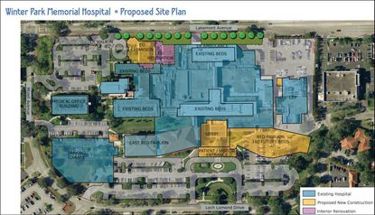 Winter Park Memorial Hospital asks city for approval to expand
