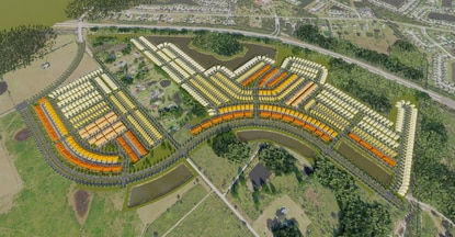 BTI Partners, master developer of Osceola County's Edgewater mixed-use district, has filed subdivision plans for the first phase. It calls for 1,125 homes and six different product types.