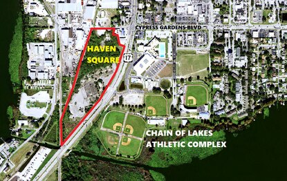 Construction plans have been filed for Haven Square on U.S. 17 in Winter Haven. The site is a designated brownfield.