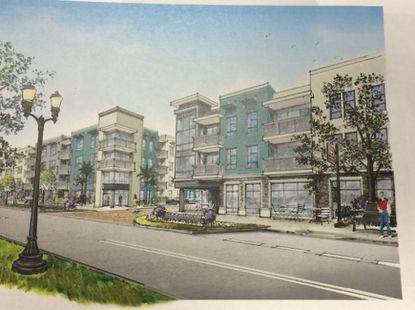 A sample apartment elevation by Tampa-based InVictus Development.