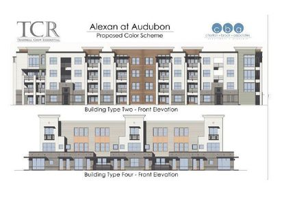 Up to 356 apartments are planned for Alexan at Audubon.