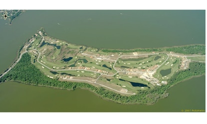 Golfers and Deer Island residents enjoy views of Lake Dora to the north and Lake Beauclair to the south. The community currently has about 100 completed homes.