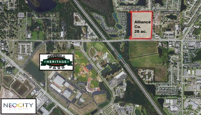 Alliance Companies paid $5.5 million for this 28-acre site on Kissimmee's Fortune Road. The land is entitled for 300,000 square feet of commercial development and hundreds of apartments.