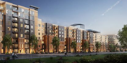 The Yard at Ivanhoe will deliver its first apartments in November.