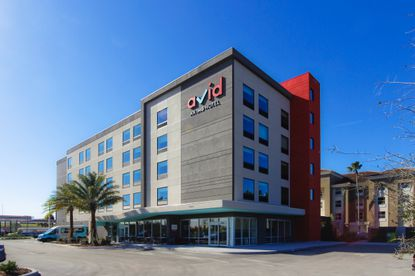 Reddy Hotels opened this 91-room AVID Hotel in January. The company has a second hotel under construction now and recently announced plans for a third hotel on the Conway Road site.