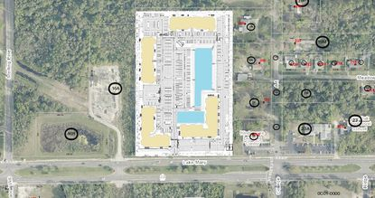 The property owner wants to develop a 240-unit market-rate apartment community at 1010 W. Lake Mary Boulevard.