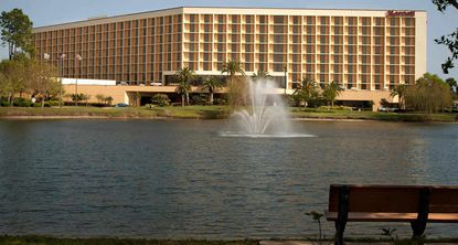 A view of the Orlando Airport Marriott Lakeside, which was bought this week by a Kentucky-based hotel investment group.