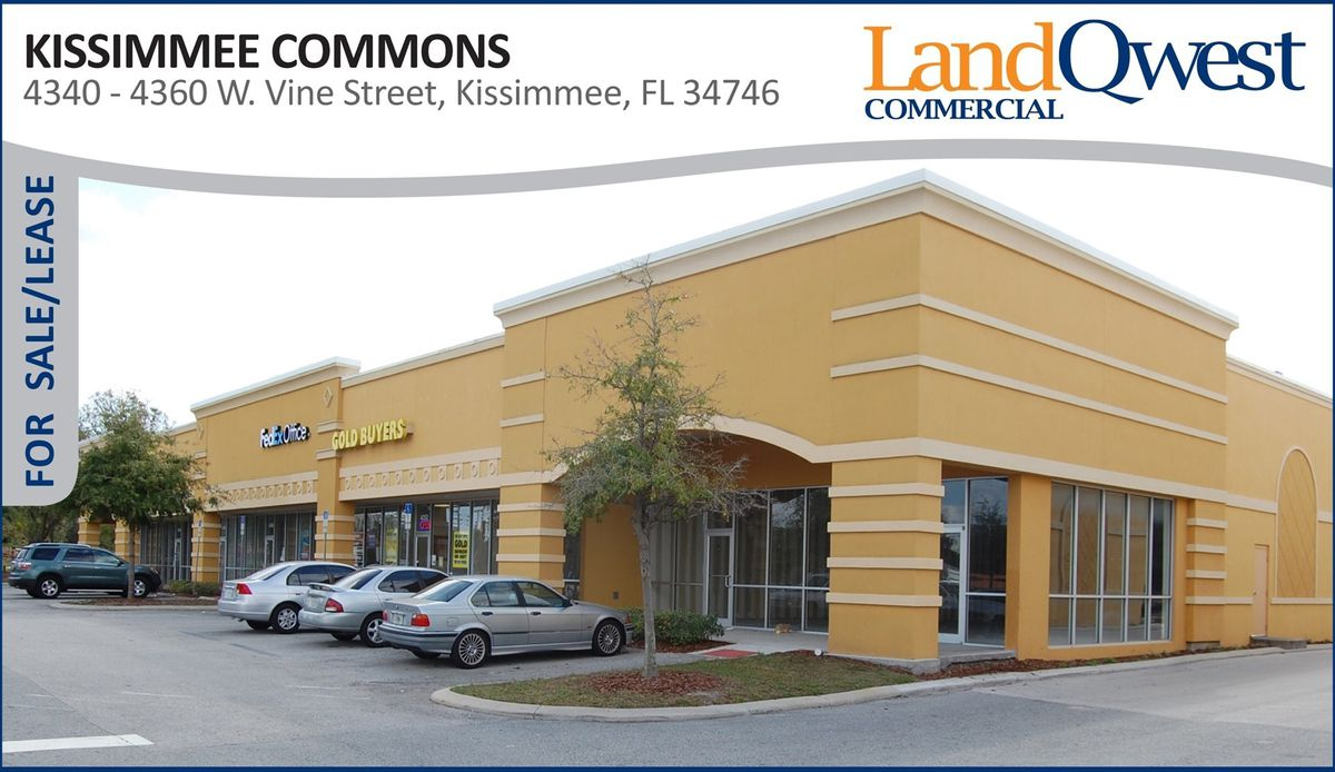 kissimmee shopping center sells weeks before scheduled public auction