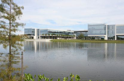 Darden Corporation's headquarters in Orlando off of S. John Young Parkway.