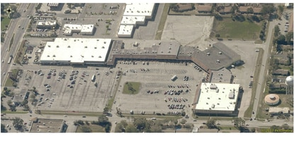 The Eustis Square Shopping Center at 332 W. Ardice Ave. was built in 1984. Current tenants include a Save-A-Lot grocery, Aaron's rent-to-own center, Bealls Outlet and several smaller restaurants and shops.
